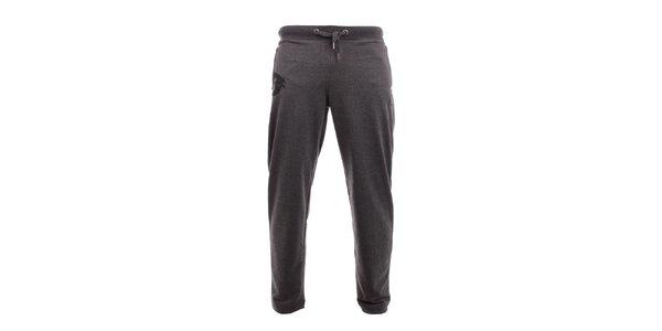 Pánske tmavo šedé tepláky Exe Jeans