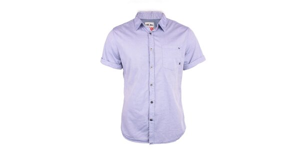 Pánska svetlo fialová košeľa Exe Jeans