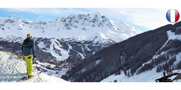 Lyžiarsky pobyt vo francúzskych Alpách