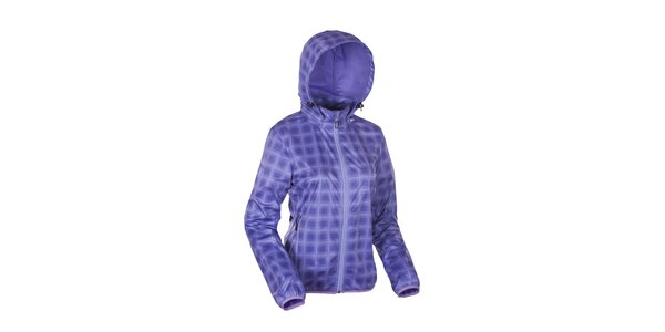 Dámska fialová károvaná bunda Envy