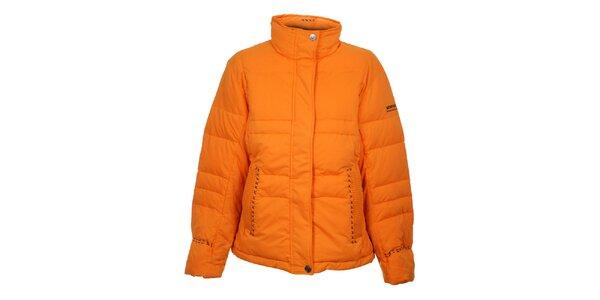 Dámska oranžová prešívaná bunda Northland
