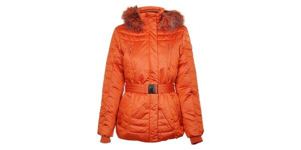 Dámska oranžová páperová bunda Northland