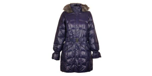 Dámsky tmavo modrý páperový kabát Northland