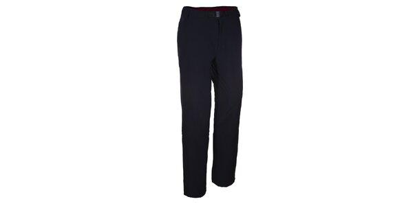 Pánska čierne funkčné nohavice Envy s opaskom