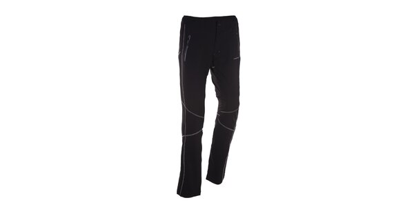 Pánske čierne športové nohavice Envy