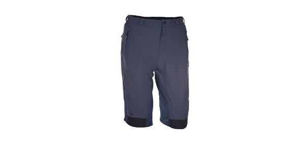 Pánske šedo-modré outdoorové šortky Envy