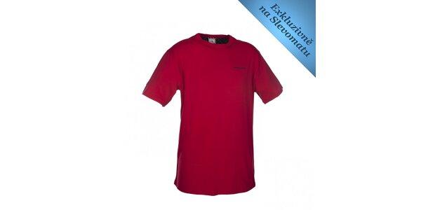 Pánske červené tričko s logom Envy