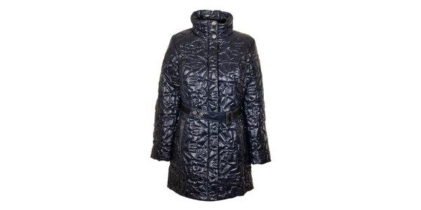 Dámsky tmavo modrý prešívaný kabát Northland