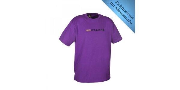 Pánske fialové tričko s logom Envy