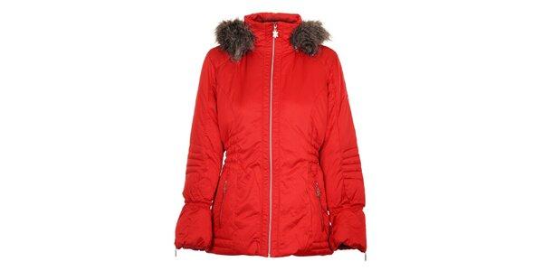 Dámska červená páperová bunda Northland