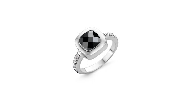 Dámsky strieborný prsteň so zirkónom Orphelia