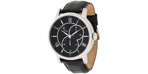 Pánske hodinky Orphelia s čiernym štýlovým ciferníkom