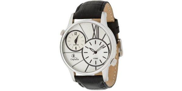 Pánske oceľové hodinky s duálnym ciferníkom Orphelia