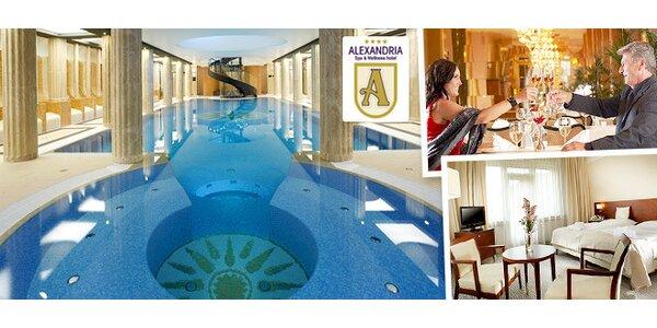 Luxus v hoteli ALEXANDRIA****Luhačovice