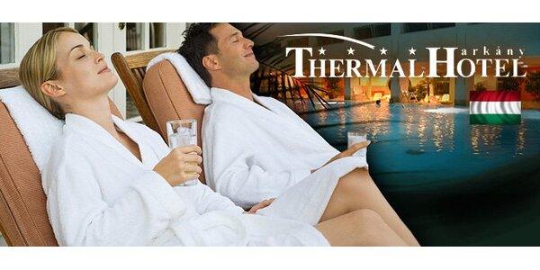 Luxusné termálne kúpele v Maďarsku