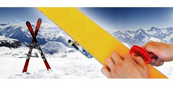 12 eur za kompletný servis vašich lyží