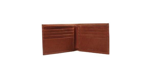 Pánska hnedá peňaženka Forbes&Lewis