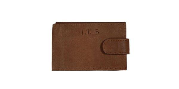 Dámska hnedá peňaženka Forbes&Lewis