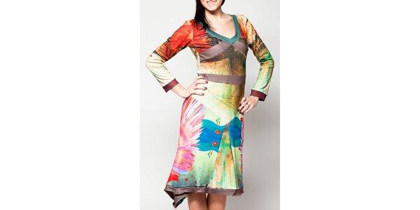 Dámske šaty s asymetrickým cípom Culito from Spain