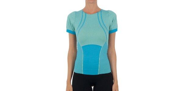 Dámske modré tričko s krátkými rukávmi Marie Claire
