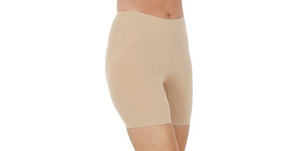 Dámske nohavičkové béžové nohavičky Marie Claire