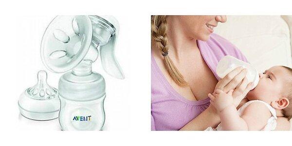 Odsávačka mlieka Avent philips + krém Avent na prsia a komfortné termo vložky…