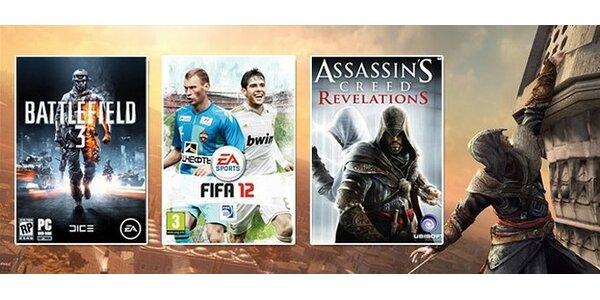 13,70 eur za poukaz na nákup akýchkoľvek PC hier v hodnote 19,70 eur.
