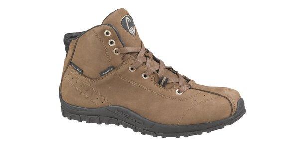 Pánska hnedá trekingová obuv Head
