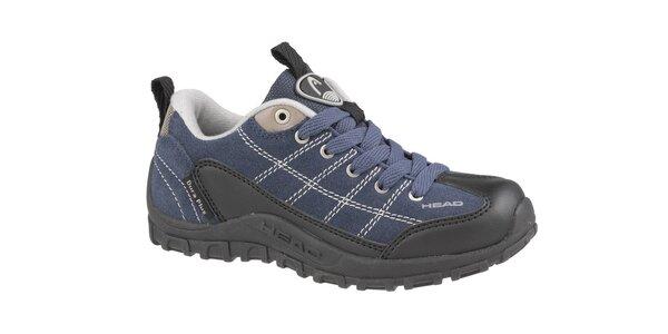 Detská tmavo modrá nízka trekingová obuv Head
