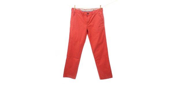 Pánske červené nohavice Tommy Hilfiger