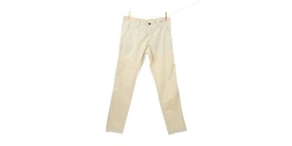 Pánske slonovinové chino nohavice Tommy Hilfiger