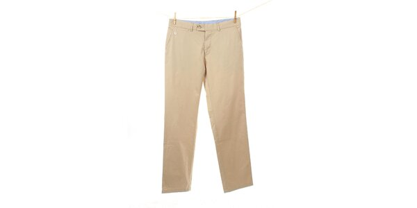 Pánske béžové chino nohavice Tommy Hilfiger