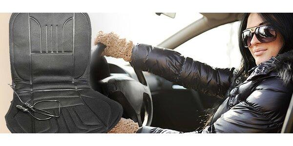 Vyhrievacia podložka na sedadlá do auta