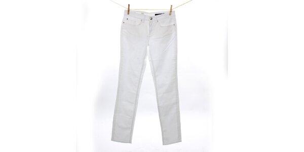 Dámske klasické biele džínsy Tommy Hilfiger