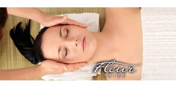 3,50 eur za antimigrenóznu masáž hlavy v Salóne Fleur