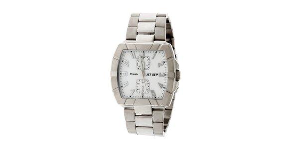Dámske ocelové náramkové hodinky Jet Set