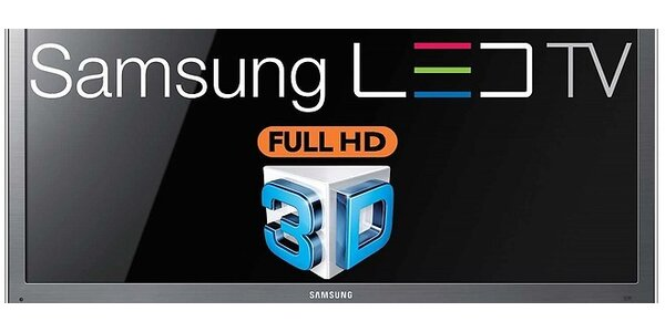 "Samsung UE40C8000 40"", 1080p, 200Hz, 3D LED TV"