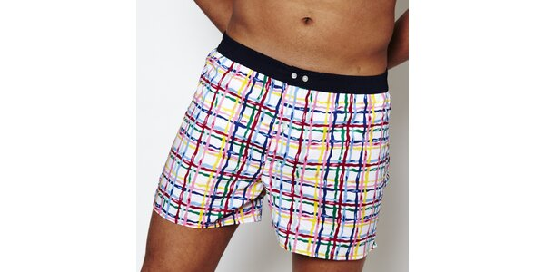 Pánske farebné boxerky Color Code
