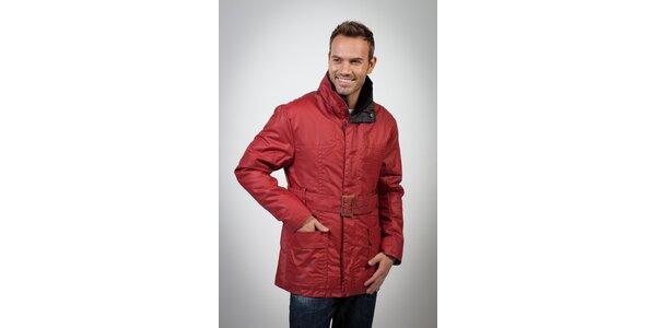 Pánsky červený kabát Spagnolo