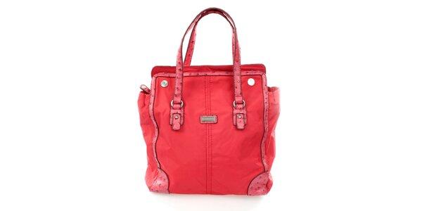 Dámska červená nákupní kabelka United Colors of Benetton