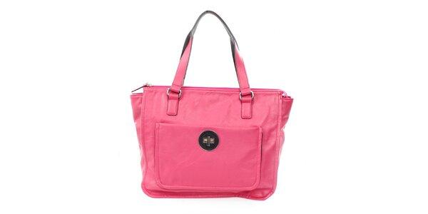 Dámska sýto ružová kabelka United Colors of Benetton