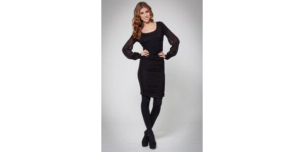 Dámske čierne šaty Ungaro