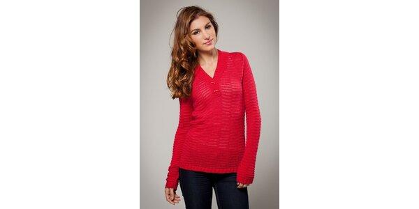 Dámsky červený sveter Ungaro