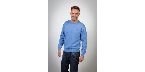 Pánsky svetlo modrý sveter Spagnolo