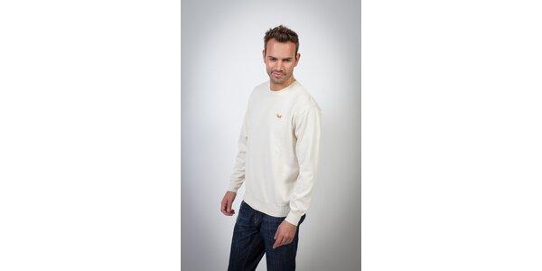 Pánsky biely sveter Spagnolo