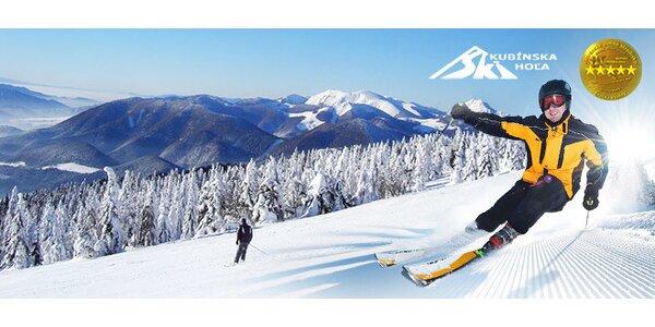 Celodenný skipas do lyžiarskeho strediska SKI PARK Kubínska hoľa