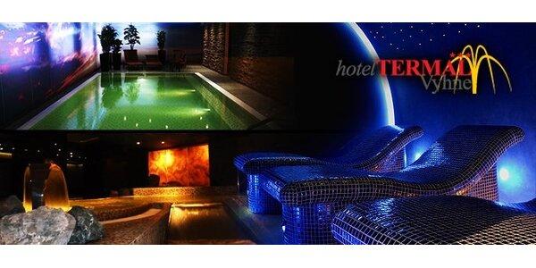 99 eur za 3 dňový wellness pobyt v hoteli TERMÁL*** Vyhne