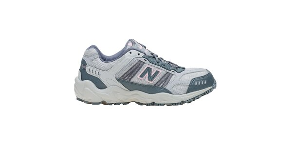 Dámske svetlo šedé terénne bežecké tenisky New Balance
