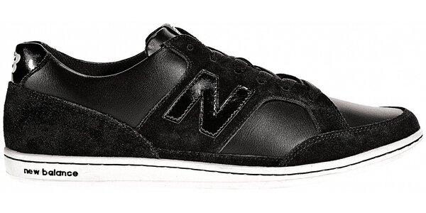 Dámske čierne kožené tenisky New Balance