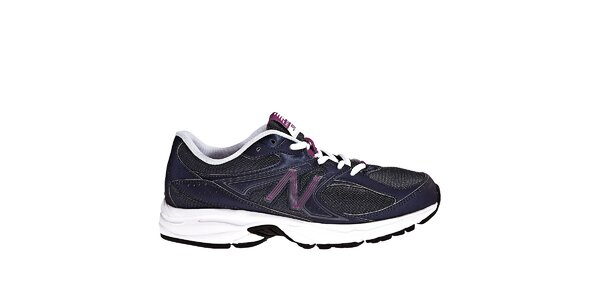 Dámske fialovo-čierne bežecké tenisky New Balance
